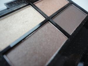 miss sporty  Quattro eye shadow palet .  403 smokey brown eyes